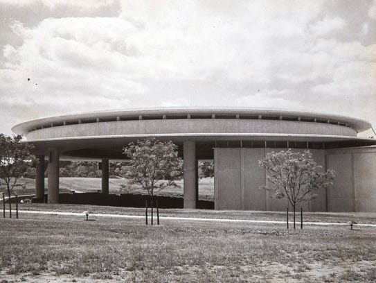 1969 photo of the Garden State Arts Center