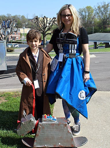 Dr. Who fans from across the country came to Clarksville