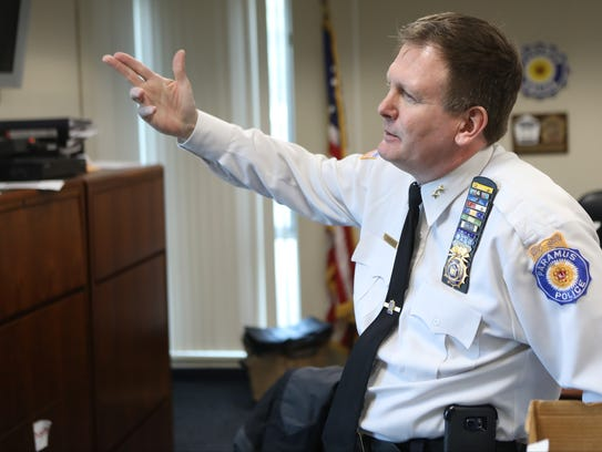 Paramus Police Chief Kenneth R. Ehrenberg also is chief