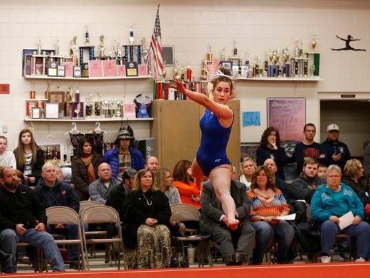 LAF HS gymnastics