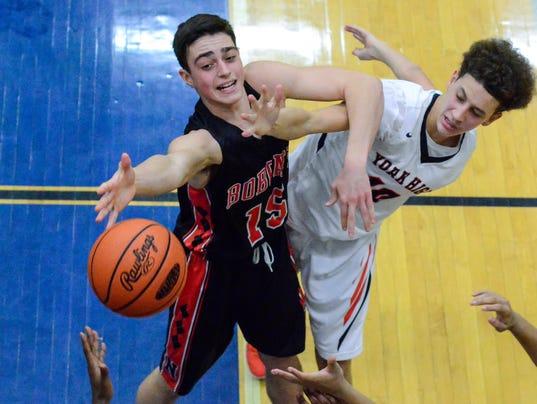 PHOTOS: Northeastern vs York High boy's basketball
