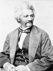 An undated photo of Frederick Douglass.