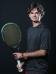 Christian Kontaxis plays tennis for Palm Desert High