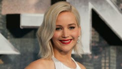 Jennifer Lawrence in London on May 9, 2016.