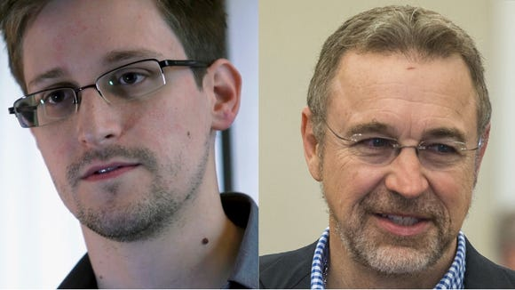 Edward Snowden and Rep. Matt Salmon