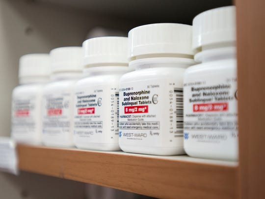 Buprenorphine is one of the medications used in combination with behavioral therapy to treat clients with opioid addiction at the Lakeview Center in Pensacola on Wednesday, July 5, 2017.