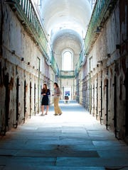 The imposing surroundings of Eastern State Penitentiary provide the perfect backdrop to think long and hard about the prison system in America.