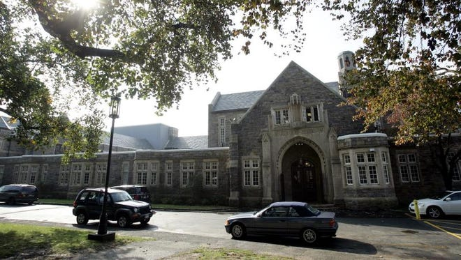 Exterior of Rye High School. (File The Journal News)