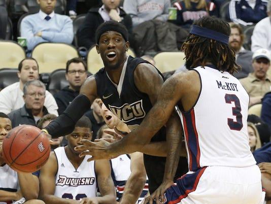 NCAA Basketball: VCU at Duquesne