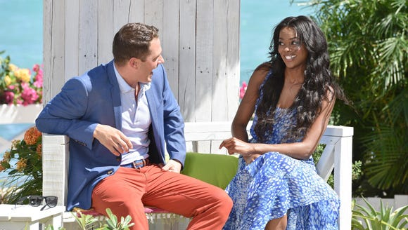 """Alex (left) and Talyah on the premiere of """"Coupled."""""""