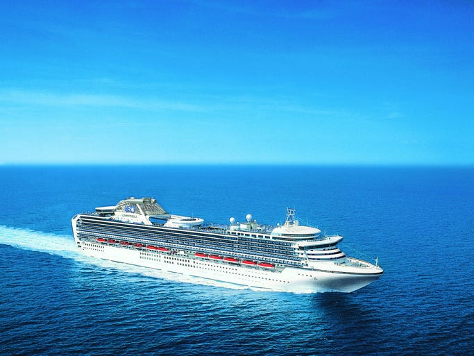 Princess Cruises' 2,670-passenger Diamond Princess emerged from a major makeover in April 2014 in anticipation of its redeployment to Japan for part of the year.