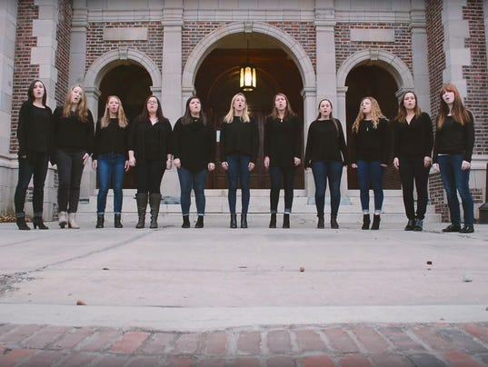 Three Miles Lost a cappella group of Hobart and William Smith Colleges in Geneva