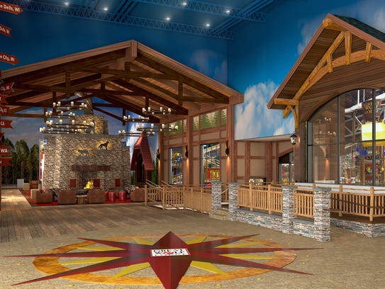 Great Wolf Lodge Illinois will have water slides, restaurants