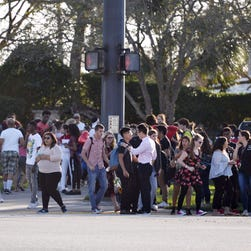 'We will be the last mass shooting': Florida students want to be tipping point in gun debate
