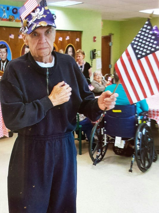 McGoldrick leads patriotic assembly PHOTO CAPTION