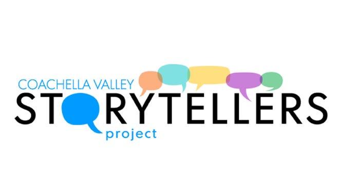 Coachella Valley Storytellers Project logo.