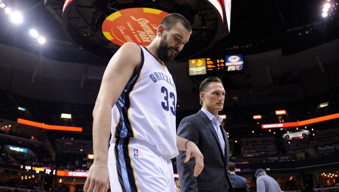 Marc Gasol is officially out for the season.