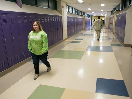 Mount Pleasant High sophomore, Aliza Pidgeon, is working toward a high school diploma.