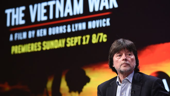 """Ken Burns participates in the """"The Vietnam War"""" panel during the PBS portion of the 2017 Summer TCA's at the Beverly Hilton Hotel on July 30, 2017."""