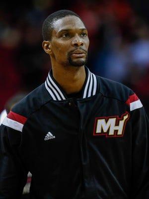 Heat All-Star Chris Bosh has a lung ailment.