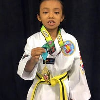 Kanesewah brings home gold