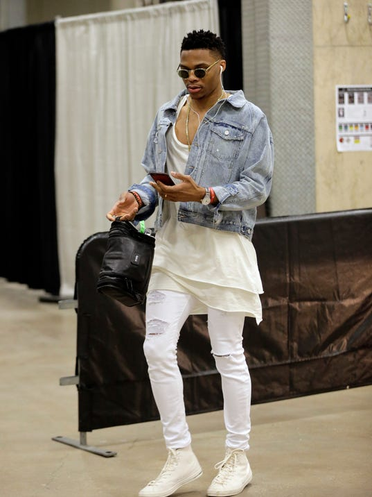 Nba 39 S King Of Fashion Russell Westbrook Talks Style