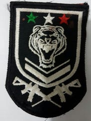 Cartel del Tigre military-style patch.