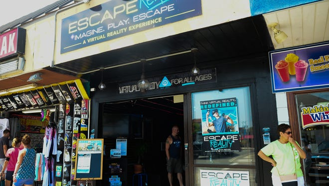 Escape Reality located in Rehoboth Beach, Del. Friday, July 14, 2017.