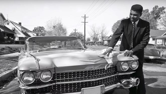 Muhammad Ali was featured in a Cadillac commercial Sunday night during the Oscars.