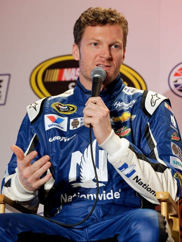 Dale Earnhardt Jr said he can't think about retiring