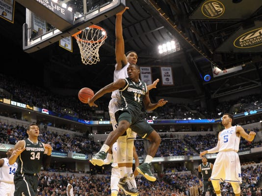 NCAA Basketball: Champions Classic-Michigan State vs Duke