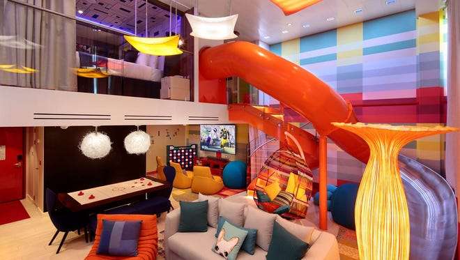 The Ultimate Family Suite on Royal Caribbean's Symphony of the Seas features two bedrooms and is chock full of fun zones.