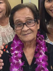 Dorotea Palaganas, 86, is the mother of three sons