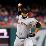 Giants pitcher Yusmeiro Petit closing in on historic mark
