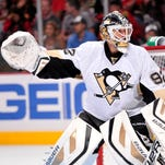 Tomas Vokoun started only 17 regular-season games in 2012-13 for the Penguins but played in 11 games in the Stanley Cup playoffs, going 6-5.