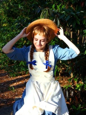 Lucia Boyd as Anne of Green Gables.