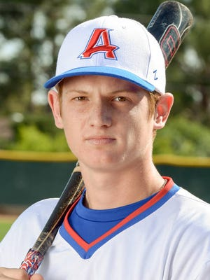 Former Arcadia catcher Sam Huff is off to a hot start with the Texas Rangers' rookie league team.