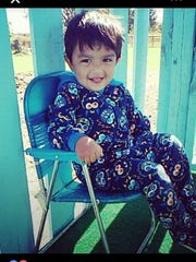 Authorities are searching for 2-year-old Ethan Jacquez, described as three feet tall with dark brown hair.