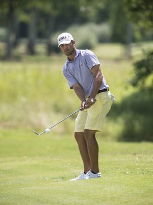 Former Loyola and LSU star Eric Ricard finished fourth on the Adams Tour this week in Texarkana.