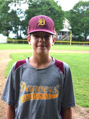 Matt Callahan is shown posing for a photo as a 2017 Danvers National Little League all-star, and three years later he's on the 16U Iron Legion club in the new Essex County League. They will play their home games at World Series Park in Saugus.