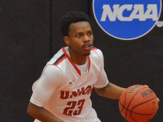 Senior guard Coreion Pearson was named to the all-GSC