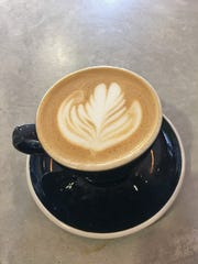 The Almond Joy latte at Tenafly Coffee Company and