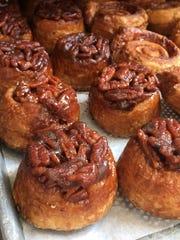 mini desserts balthazar sticky bun