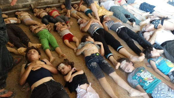 chemical weapons victims