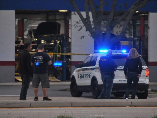 Shooting scene in Rockledge