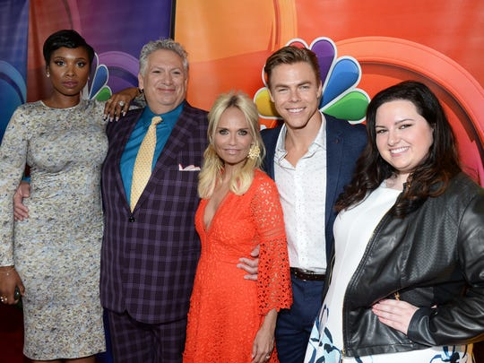 """Jennifer Hudson, Harvey Fierstein, Kristin Chenoweth, Derek Hough and Maddie Baillio are headed to California for NBC's live musical production of """"Hairspray"""" in December."""