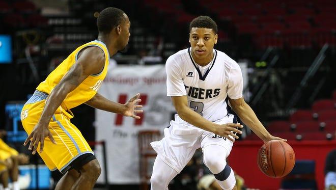 JSU guard  Yettra Specks (3) is just one of many Tigers battling against the wear and tear caused throughout the season.