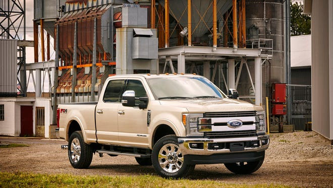 Ford has recently launched production of the 2017 Ford F-Series Super Duty truck at its Kentucky Truck plant in Louisville. The automaker reported Thursday that its third-quarter earnings fell from the $2.7 billion it made in the third quarter of 2015.