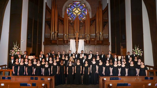 ULM Choir reveals the best-kept secret to state's high-schoolers