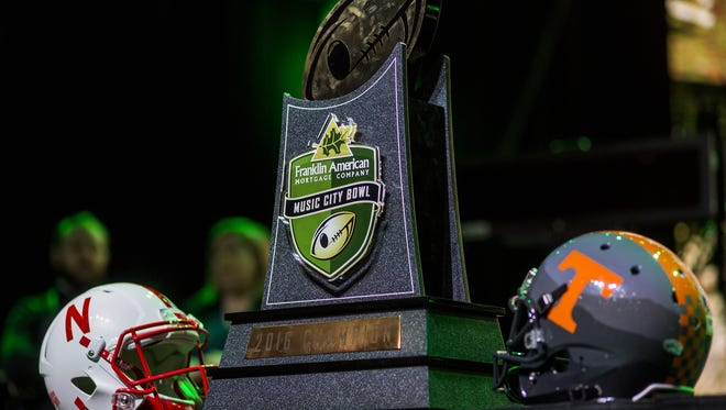 The Franklin American Mortgage Music City Bowl will be played 2:30 p.m.  Friday at Nissan Stadium. Nebraska will play Tennessee in the bowl game.